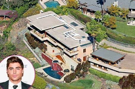 House of Zac Efron in Los Angeles, California