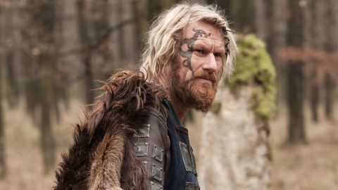 The Great Heathen Army is said to have been led by the sons of Ragnar Lodbrok, to wreak revenge against King Ælla of Northumbria who had supposedly executed Ragnar in 865 by casting him into a pit full of snakes.