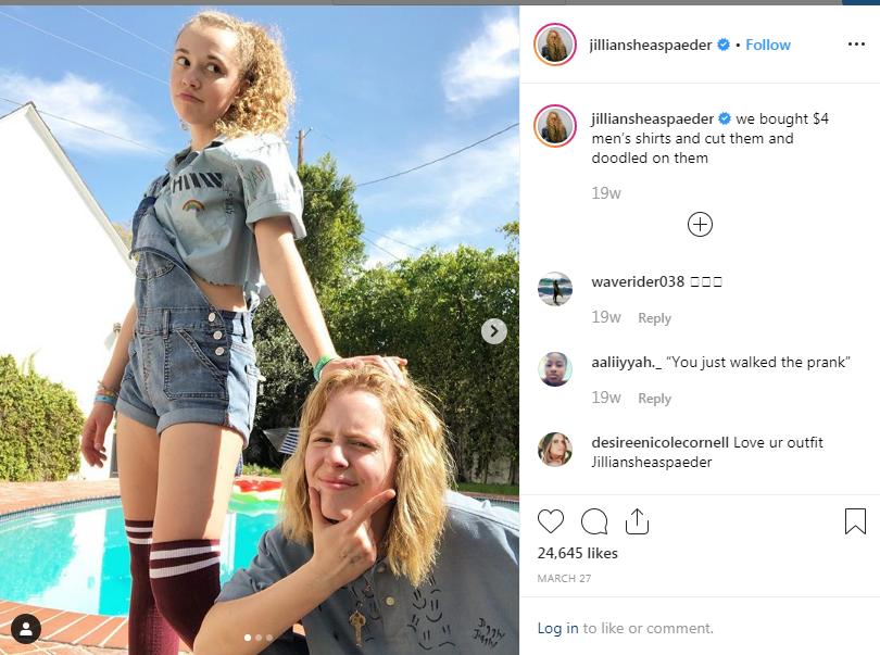 Jillian Shea Spaeder has a net worth of $500 thousand.