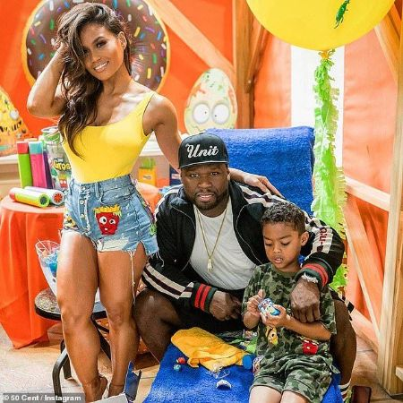 Daphne Joy With Partner 50 Cent and Her son
