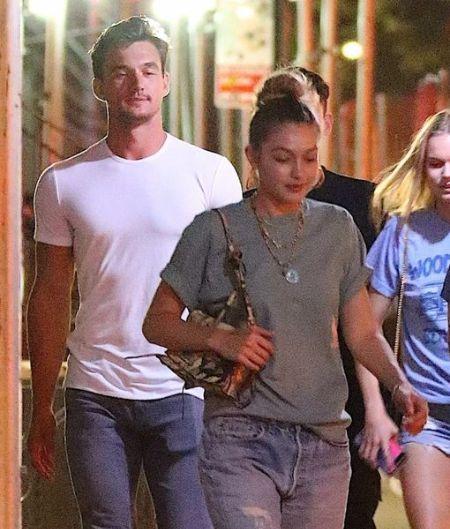 Tyler and Gigi Hadid were seen together