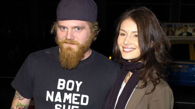 Angie Cuturic with her boyfriend Ryan Dunn