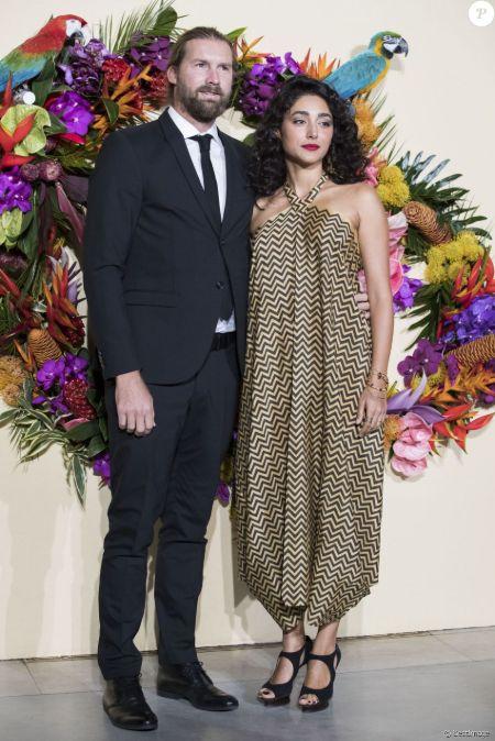 Christos Dorje Walker and his ex-wife Golshifteh Farahani.