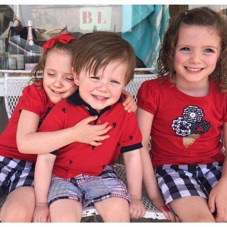 Children of James A. Ben and Trish Regan.