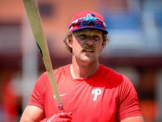 Rhys Hoskins Wife, Net Worth, Salary, Contract, Wedding and More in His Wiki Bio 2021