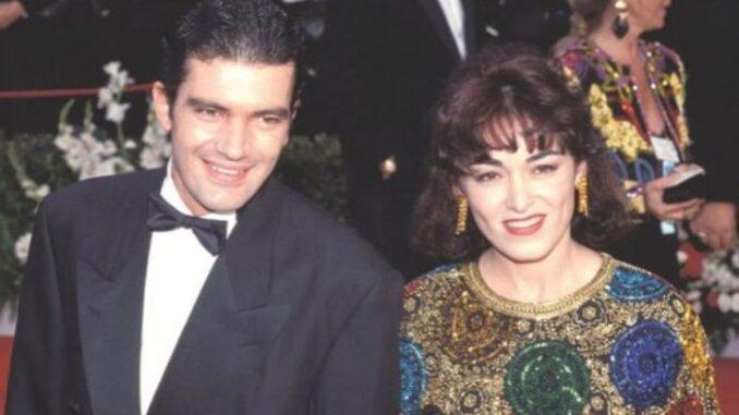 Ana Leza with her husband Antonio