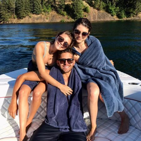 Gianni Giannulli with his sisters