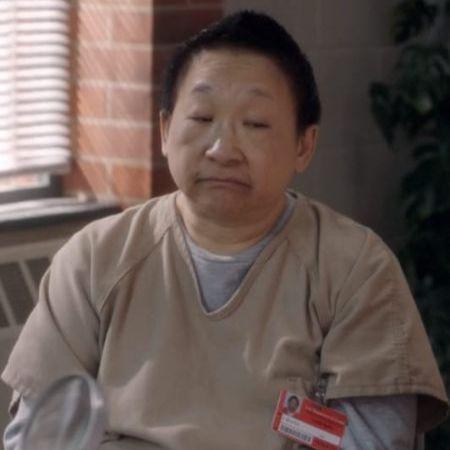 Lori Tan Chinn in her 'OITNB' character