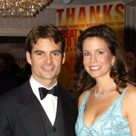Brooke Sealey with her ex-husband Jeff